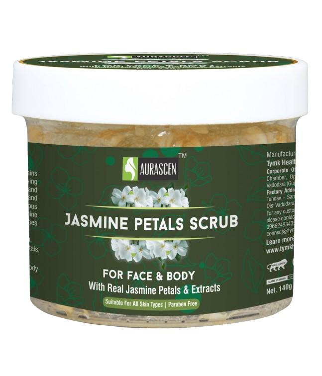 Jasmine Petals Face & Body Scrub (with Jasmine Petals) (paraben Free) Image 1