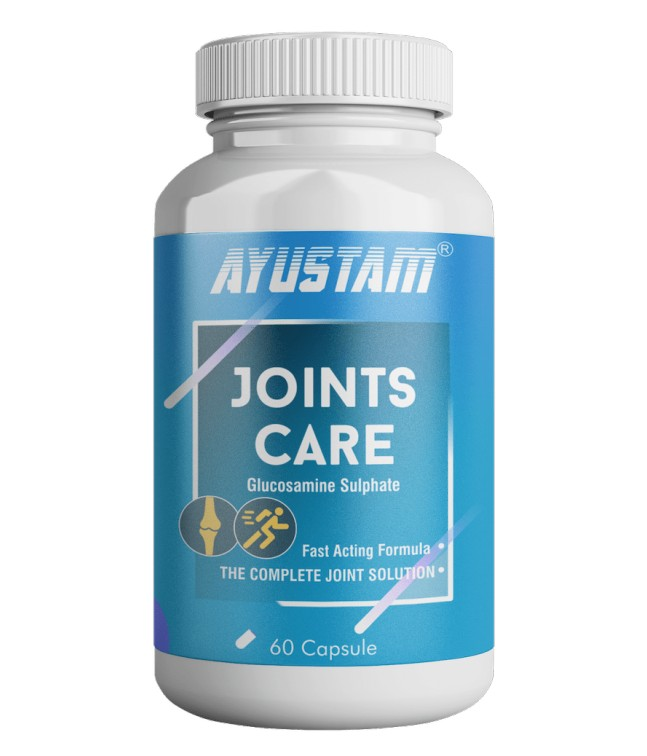Joints Care Capsule (glucosamine Sulphate) (500mg) (fast Acting Formula)-the Complete Joint Solution Image 1
