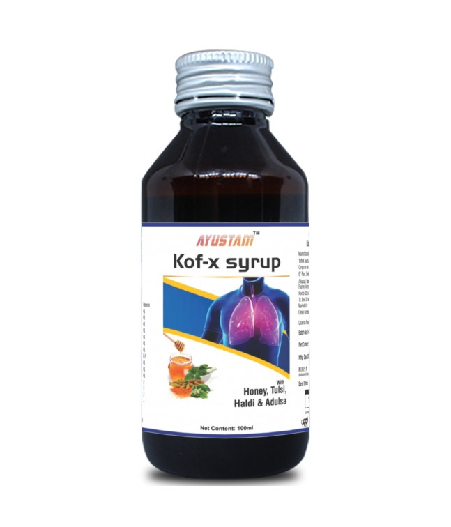 Kof-x Cough Syrup Image 1