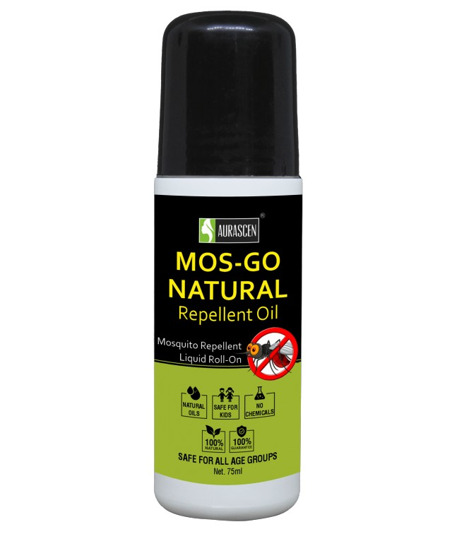 Mos Go Anti Mosquito Roll On (natural) Image 1