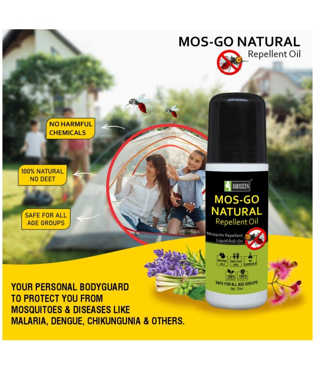Mos Go Anti Mosquito Roll On (natural) Image 2