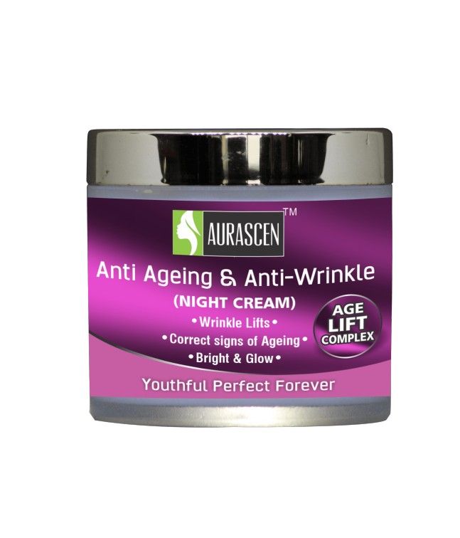Face Cream Anti Ageing Anti Wrinkle (night Cream) (for All Skin) Image 1