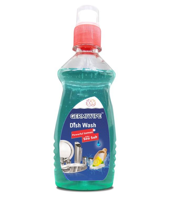 Dish Wash With Lemon And Sea Salt (double Power) (blue) Image 1