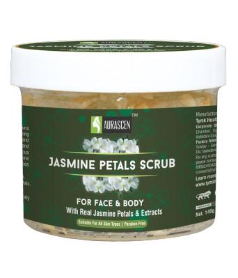 Jasmine Petals Face & Body Scrub (with Jasmine Petals) (paraben Free)