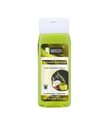 Hairwell Shampoo (with Lemon,rosemary & Coconut)