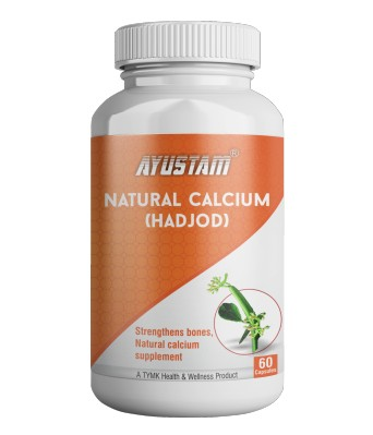 Natural Calcium (hadjod) Capsules
