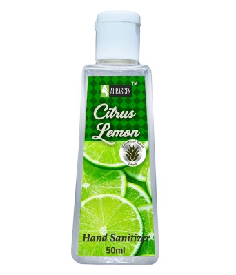 Hand Sanitizer Citrus Lemon