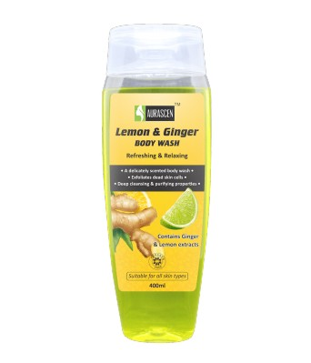 Ginger & Lemon Body Wash (paraben Free)