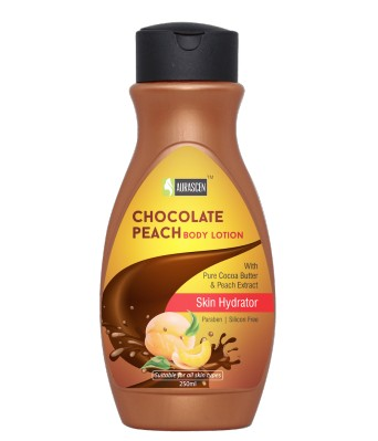 Chocolate-peach Body Lotion (with Pure Cocoa Butter) (paraben/silicon Free) (skin Hydrator)
