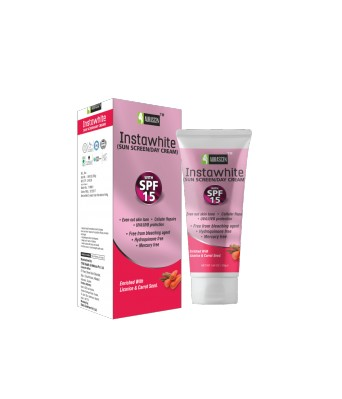 Instawhite Day Face Cream With Spf 15 Sunscreen (with Lotus)