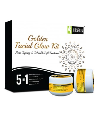 Golden Facial Glow Kit X (5 Jars)