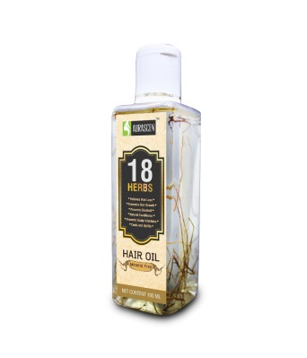 Mineral Free18 Herbs Hair Oil With Roots