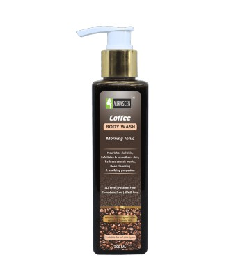 Coffee Face & Body Wash -morning Bath Tonic (sls Free/paraben Free/phosphate Free/gmo Free)