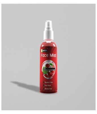 Face Mist  With Cherry & Green Apple ( Alcohol Free)