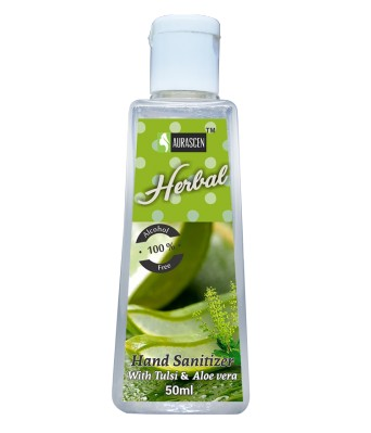 Hand Sanitizer (non-alcoholic) (with Tulsi & Aloevera)