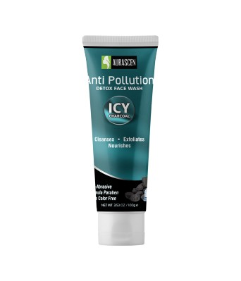 Face Wash-  Charcoal & Menthol ( Anti Pollutioner & For All Season All Skin)