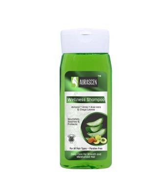 Wellness Shampoo (with Almond, Amla, Aloe-vera &  Chaya Leaves)