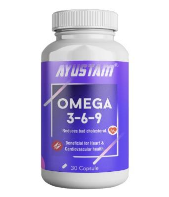 Omega 3,6,9 Capsules (1000mg)