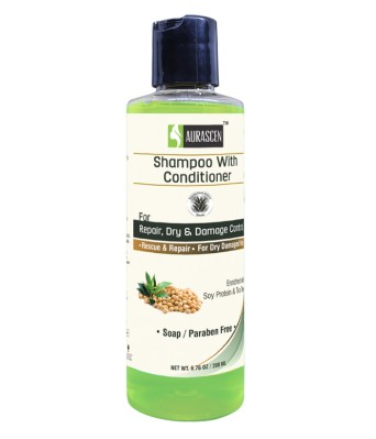 Soy Protein & Teatree Shampoo With Conditioner ( For Repair, Dry And Damaged Hair)