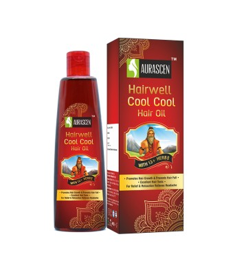 Hairwell Cool Cool Hair Oil (with 13+ Herbs)