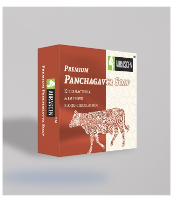 Premium Panchagavya Soap ( Contains Milk, Dung,ghee ,urine And Curd Of Indian Cow)