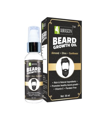 Beard Growth Oil  (with Almond,olive & Sunflower)