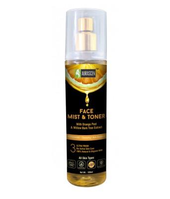 Face Mist & Toner (with Orange Peel & Willow Bark Tree Extract )